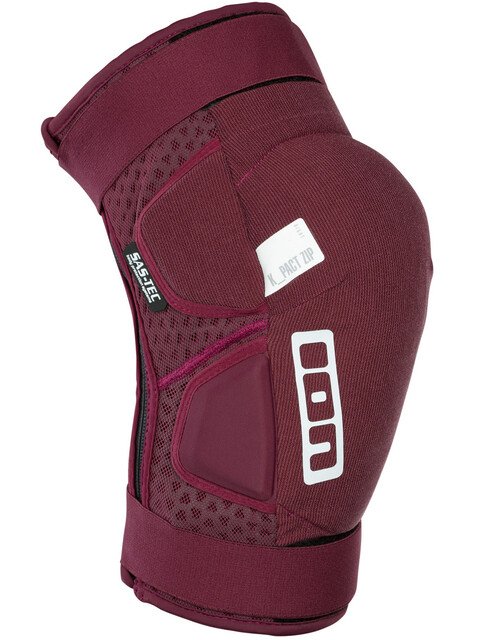 ION K-Pact Zip Knee Protectors combat red